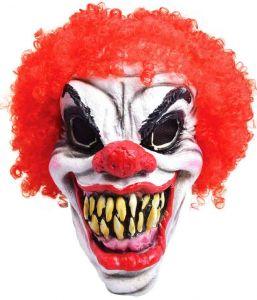 Маска Клоун в парике