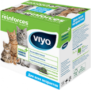 Viyo Reinforces  All Ages Cat Пребиотический напиток для кошек всех возрастов (7х30 мл)