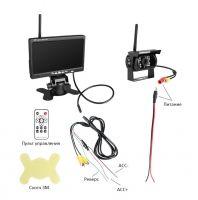 Беспроводная камера заднего вида для грузовиков (PZ607W)