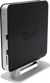 Неттоп 3Q Qoo! 3Q Nettop Shell Black (Celeron J1800 2.41- 2.58 GHz/2*SO-DIMM DDR3/no HDD/Intel GMA 3600/Wi-Fi/HDMI/VGA/USB) RET