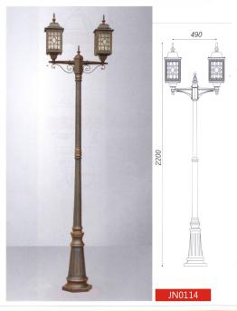 Парковый уличный светильник, >60W, е27, IP44