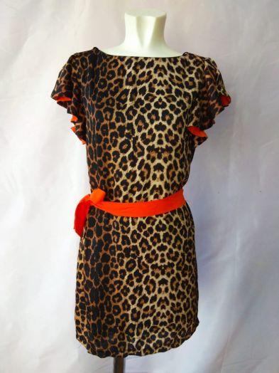 Платье Davini леопард