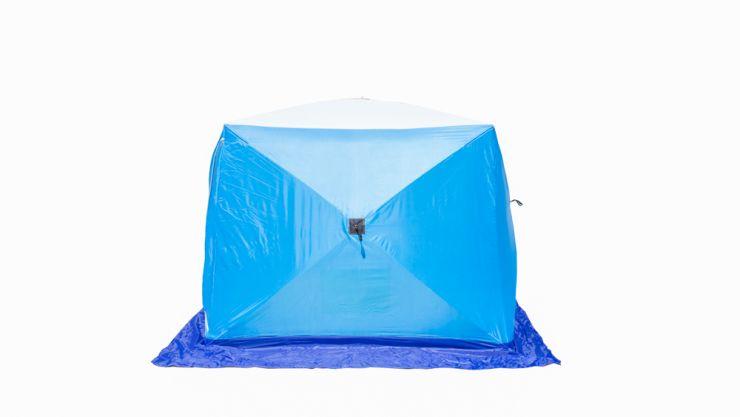 Палатка   зимняя Стэк КУБ 2 трехслойная LONG дышащая