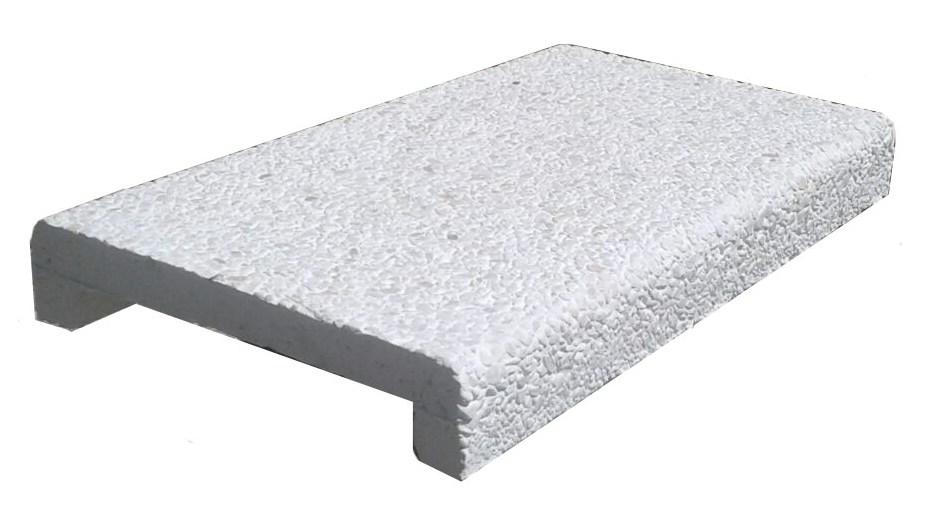 Копинговый (бортовой) камень мраморный
