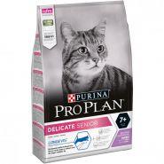 Pro Plan Delicate Senior (с индейкой) для кошек старше 7 лет с проблемным пищеварением (1,5 кг)