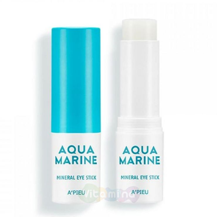 A'Pieu Увлажняющий минеральный стик для области вокруг глаз Aqua Marine Mineral Eye Stick, 13 мл