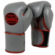Перчатки боксерские LEADERS LeadSeries Long Velcro Custom GR LS4SC GR