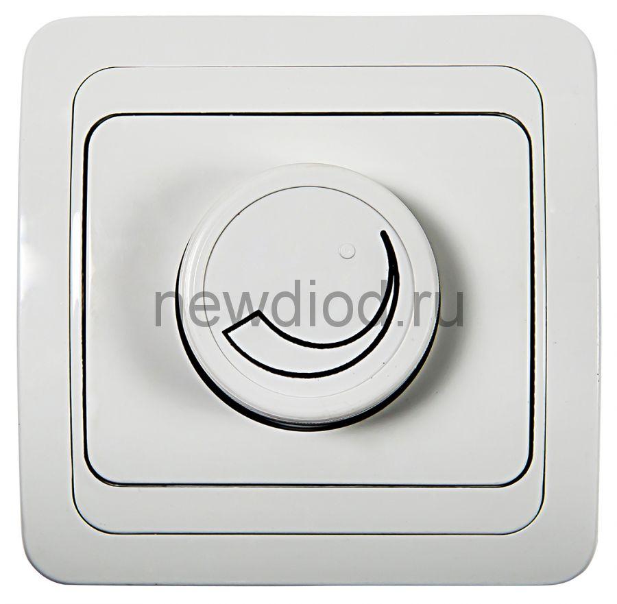 Диммер 600Вт CLASSICO белый 2111 IN HOME