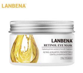 50 шт Патчи под глаза LANBENA Retinol Eye Mask от морщин с ретинолом 50 шт