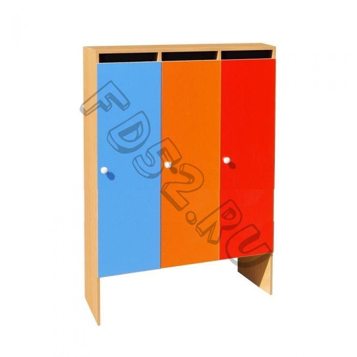 Шкаф для одежды 3-х секционный ШНД-3