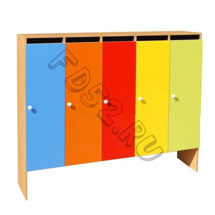 Шкаф для одежды 5-ти секционный ШНД-5