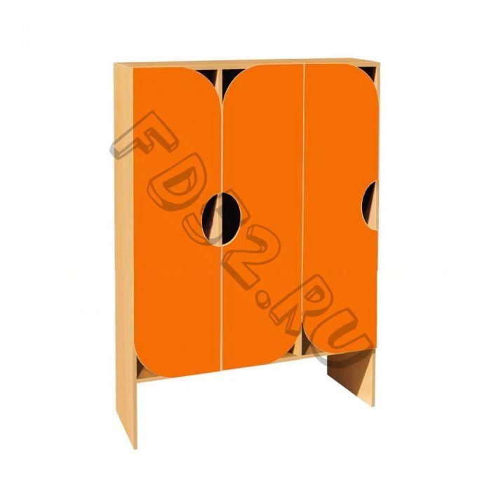 Шкаф для одежды 3-х секционный ШНД-23
