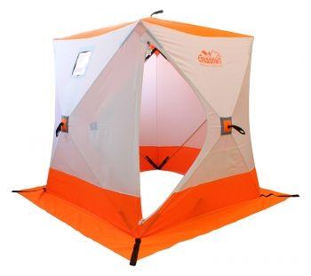 Зимняя палатка СЛЕДОПЫТ Куб 4 местная оранжевая (PF-TW-06)