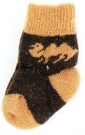 Шерстяные носки детские 2-4 лет №А008