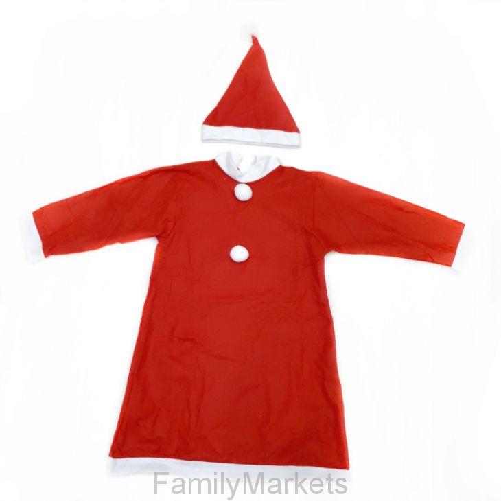 Красный костюм снегурочки для девочки