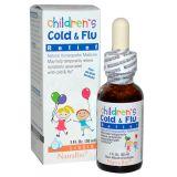 NatraBio Children's Cold & Flu, Средство от простуды и гриппа для детей, 30 мл