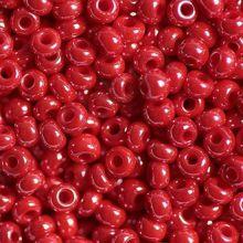 Бисер чешский 98170 красный непрозрачный блестящий Preciosa 1 сорт