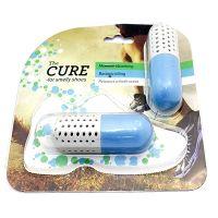 Поглотитель неприятного запаха для обуви CURE, цвет голубой (4)