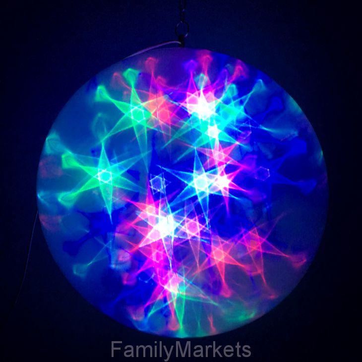 Большой эксклюзивный шар с LED светодиодами-28см