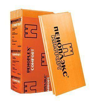 Экструдированный пенополистирол Пеноплэкс Комфорт, 1185х585х30 мм (13 шт/9.01 м2)
