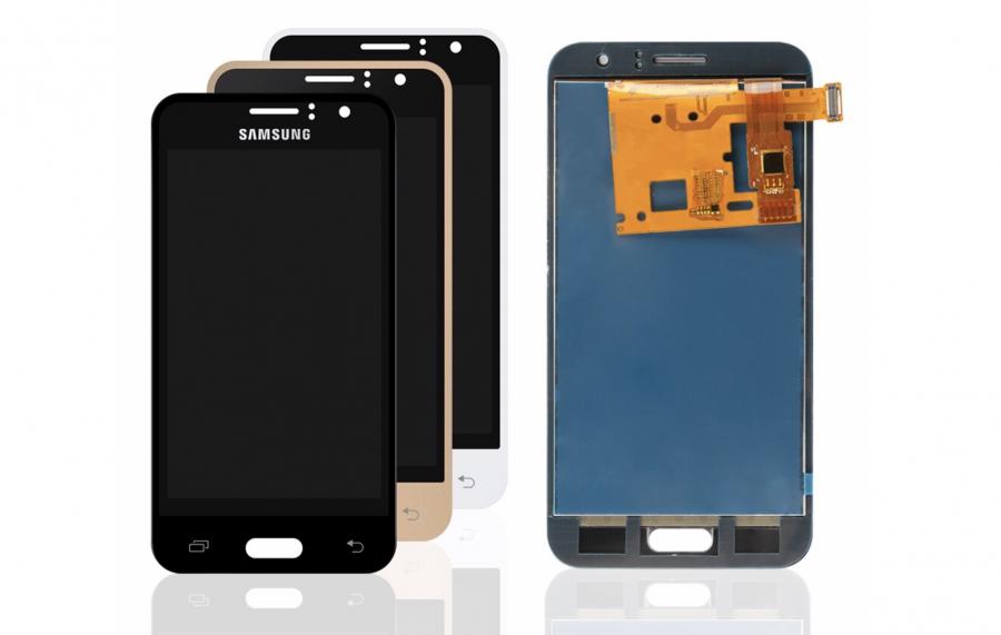 LCD (Дисплей) Samsung J120F Galaxy J1 (2016) (в сборе с тачскрином) (black)