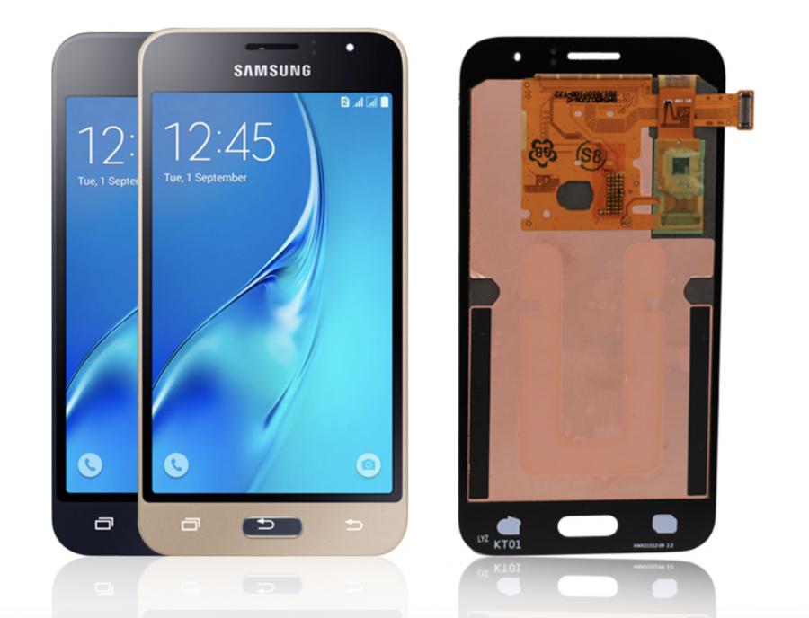 LCD (Дисплей) Samsung J120F Galaxy J1 (2016) (в сборе с тачскрином) (black) Оригинал
