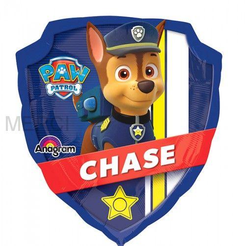 """Шар фигура """"Щенячий патруль Чейз и Маршал """""""