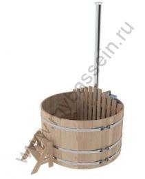 Фурако из кедра с внутренней печкой