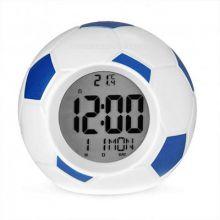 Настольные говорящие часы Футбольный мяч Atima AT-609TI,(цвет синий)