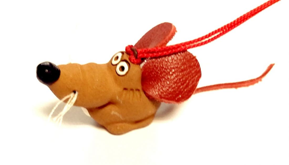 Фигурка крысы Керамика