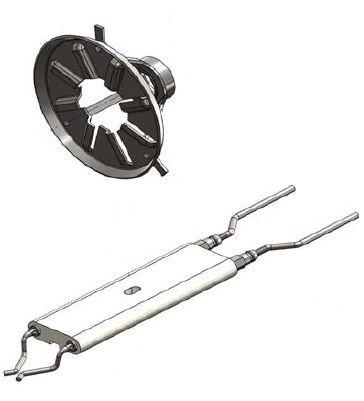 Завихритель с электродами (140, 200)