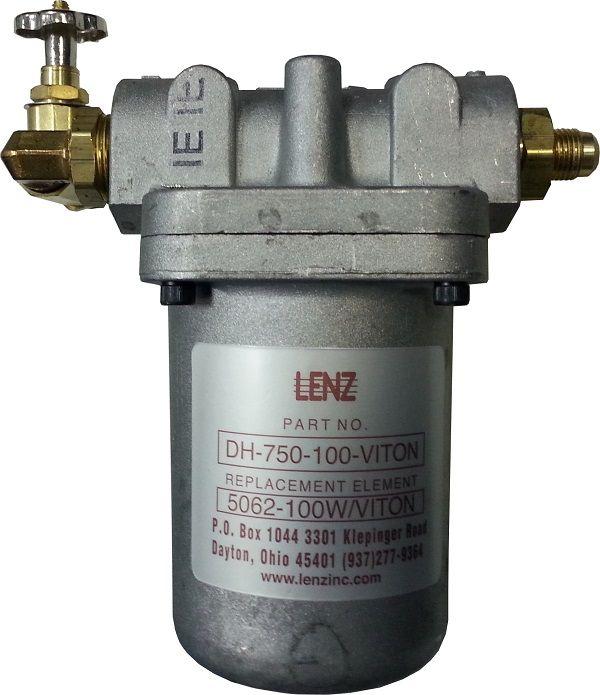 """Фильтр топливный Lenz 5"""" (комплект с фитингами и шаровым краном)"""