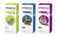 Бравекто Spot On для кошек 6,25-12,5кг