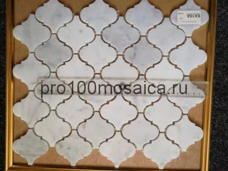 KA10A. Мозаика серия Камень чип 80*70, размер, мм: 330*278*6 (Happy Mosaic)