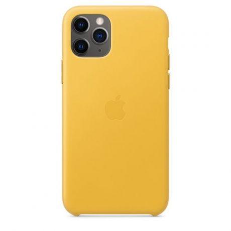 Чехол iPhone 11 Pro Apple Leather Case