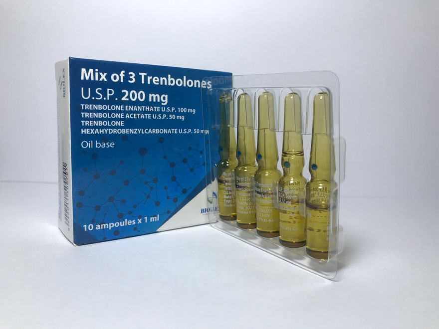 MIX OF 3 TRENBOLONES (Тритрен) 10 amp. 200 mg