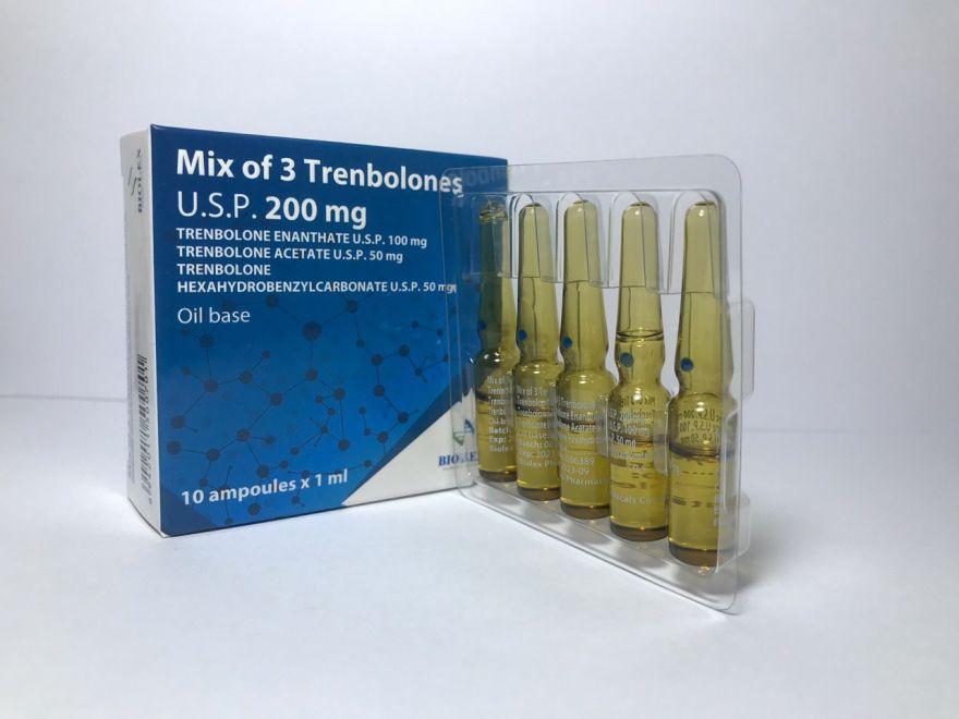 MIX OF 3 TRENBOLONES (Тритрен) 10 amp. 200 mg
