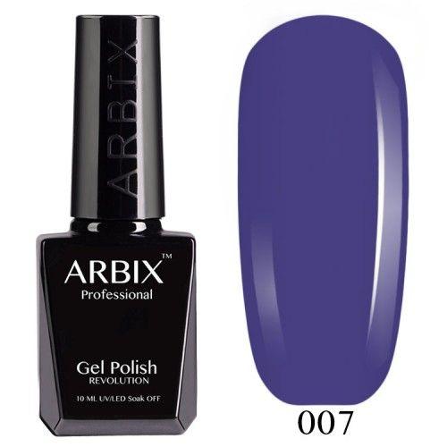 Гель-лак Arbix №007 Черничный Мусс