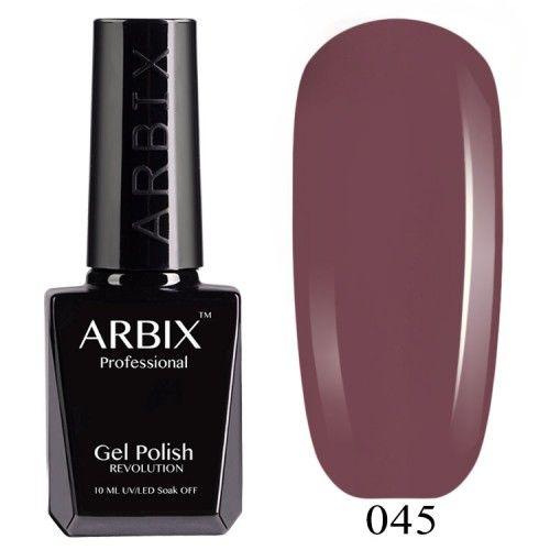 Гель-лак Arbix №045 Французский Каштан