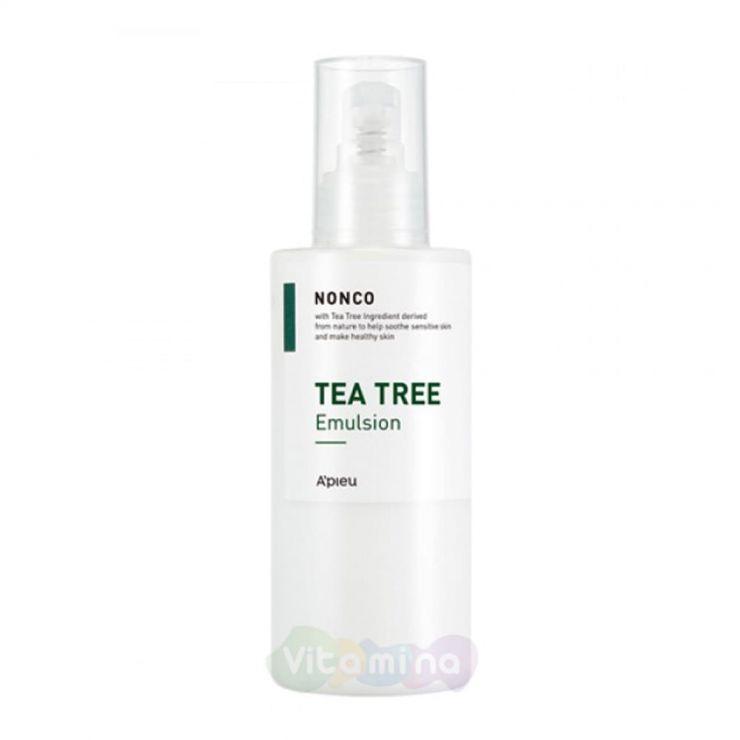 A'Pieu Эмульсия с чайным деревом для проблемной и жирной кожи Nonco Tea Tree Emulsion