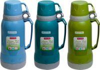 Термос со стеклянной колбой Kamille 1 и 1,8 литра
