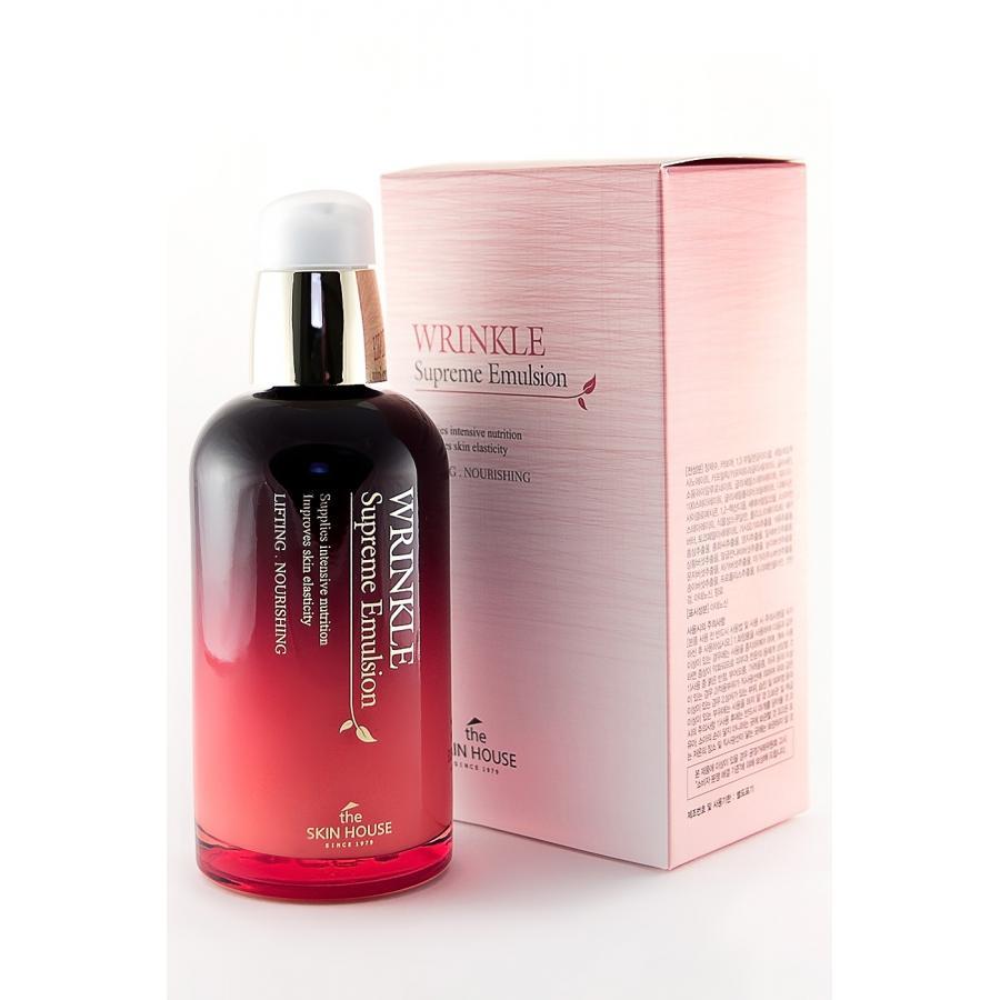 Эмульсия для лица антивозрастная с женьшенем The Skin House Wrinkle Supreme Emulsion 130мл