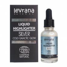 Жидкий хайлайтер Сold galactic glow (серебро), 30 мл