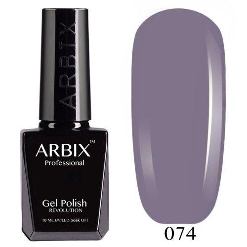 Гель-лак Arbix №074 Нуар