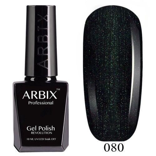 Гель-лак Arbix №080 Зелёное Сияние