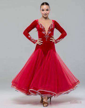 "Платье для танцев стандарт ""Lemongrass"""