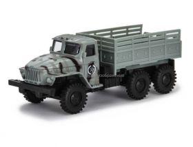 Игрушка грузовик металлический Урал «Пограничные войска», инерционный, 1:48