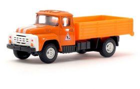 Игрушка грузовик металлический Зил «Дорожные работы», инерционный, 1:48