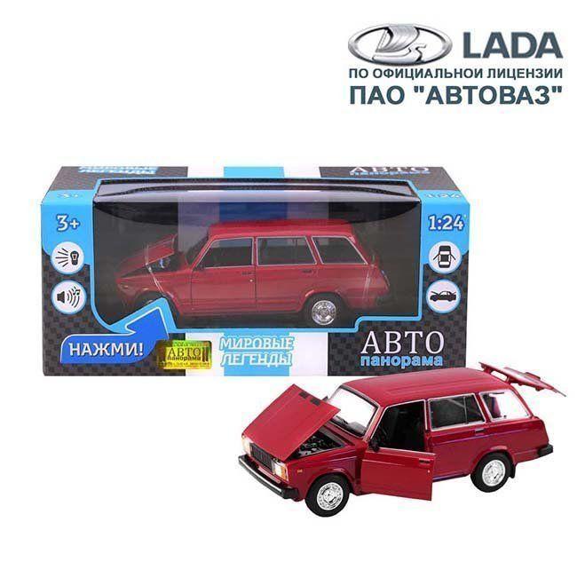 Модель 1200166JB ВАЗ 2104 1:24 Автопанорама