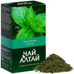 """Чай Алтай"" зеленый с мятой, 100 гр"